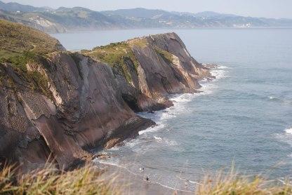Klippen im Baskenland