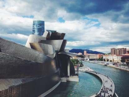 Außenansicht Guggenheim Museum Bilbao