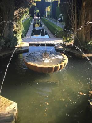 Springbrunnen Alhambra