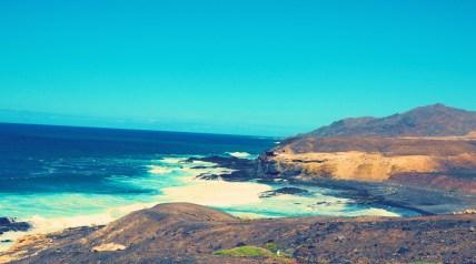 La Pared Bucht auf Fuerteventura