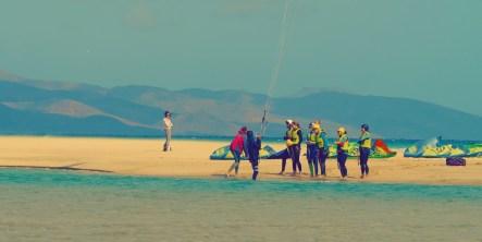 Sotavento Surfer Strand Fuerteventura