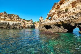 Höhlen Steilküste Lagos Algarve