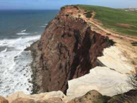 Küste portugiesischer Jakobsweg Ericeira Santa Cruz