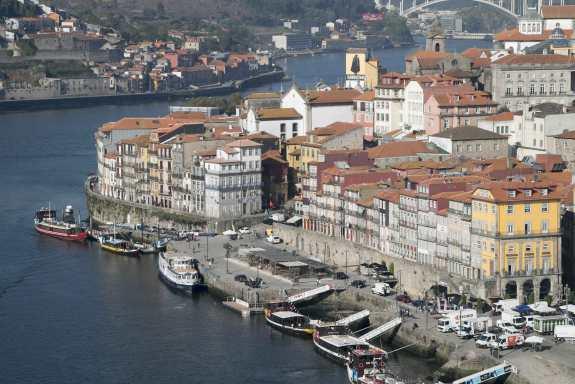 Porto Douroufer Boote Brücke