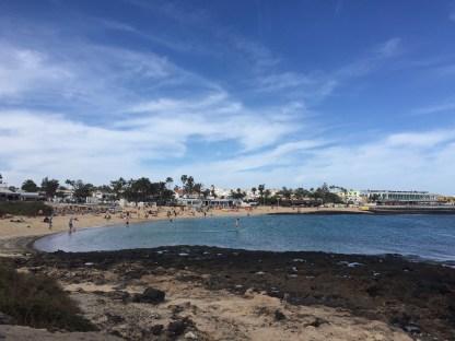 Bucht Badestrand El Cotillo Fuerteventura