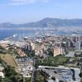 Blick auf Bucht von Palermo