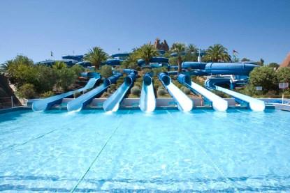 Rutschen im Slide & Splash Algarve
