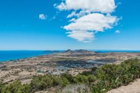 Aussicht Pico do Castelo Porto Santo