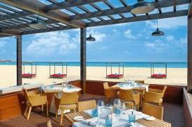 Strandrestaurant Hilton Cabo Verde Sal Resort