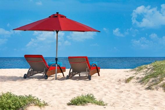 Sonnenliegen Hilton Cabo Verde Sal Resort