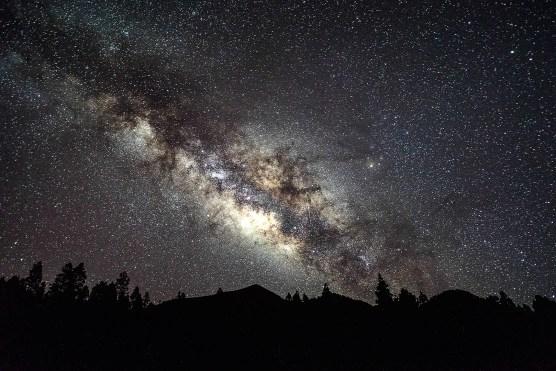 Sternenhimmel über La Palma