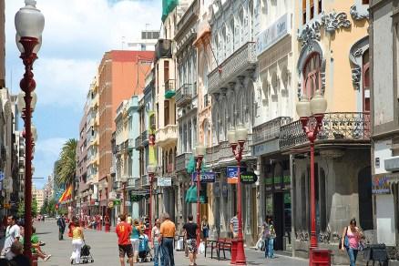 Einkaufsstraße in Las Palmas