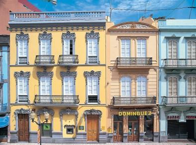 Jugendstil Häuser Las Palmas