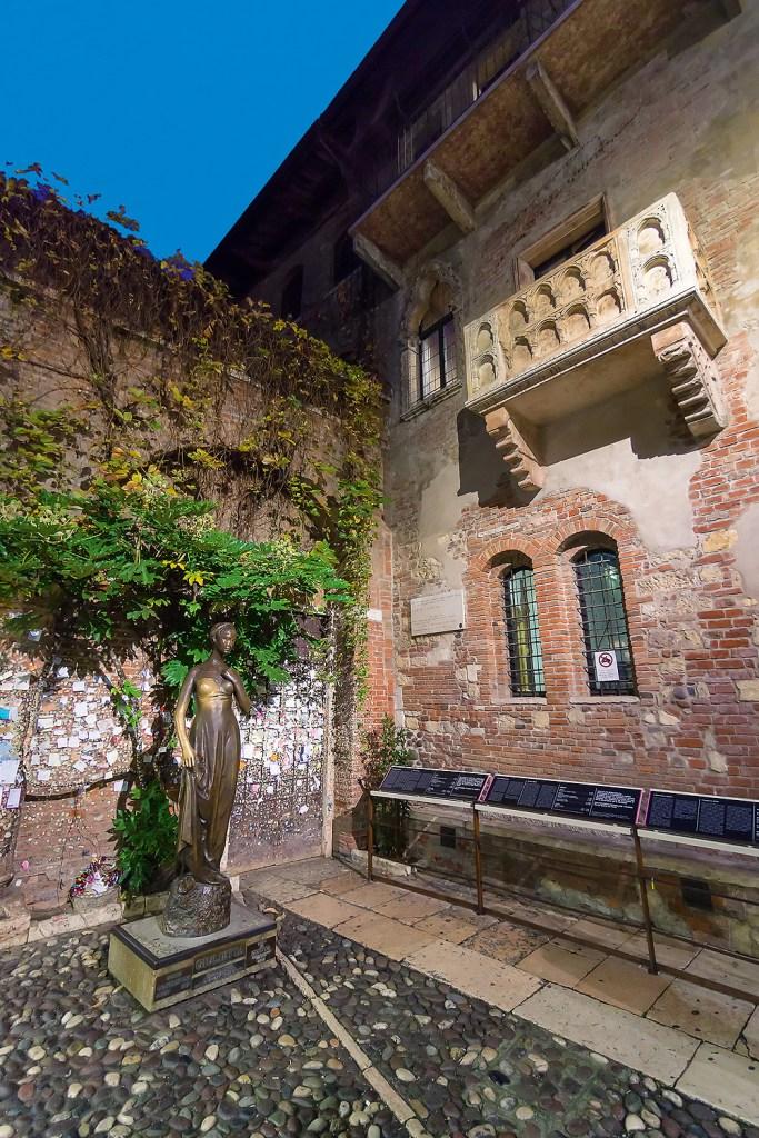 Balkon Romeo und Julia Verona