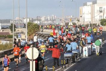 Strecke Lissabon Halbmarathon
