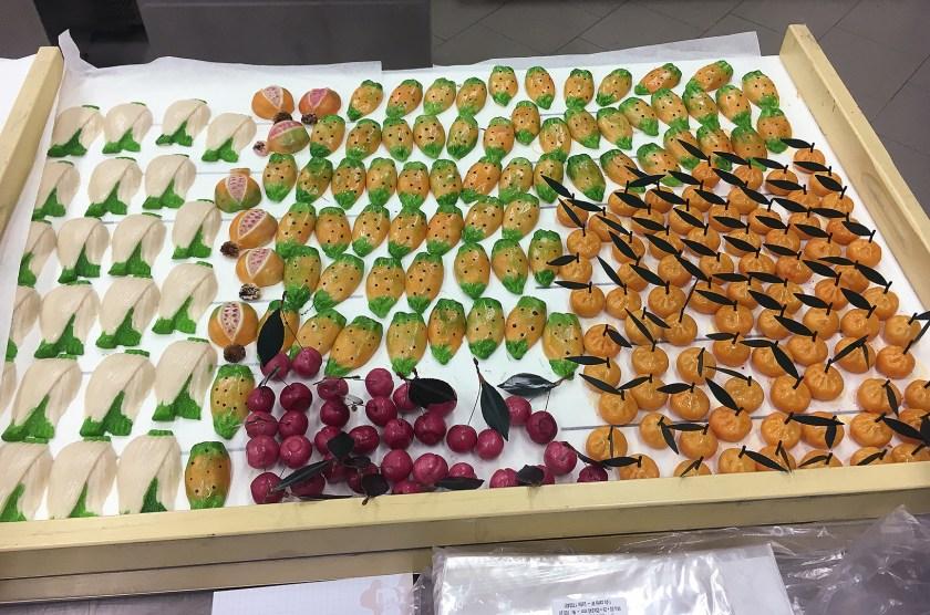 Marzipanfrüchte auf Sizilien