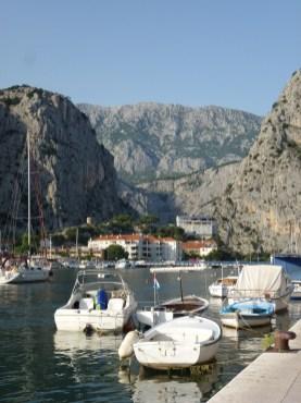 Omis in Dalmatien
