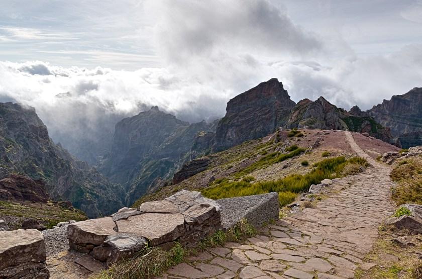 Wanderweg Pico Arieiro Madeira