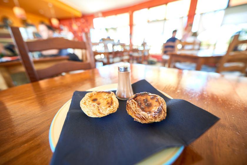 Pasteis de Nata an der Algarve