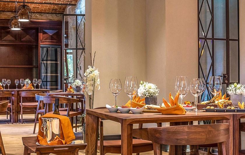 Restaurant im Boutique Hotel Alhambra Alfred Keller