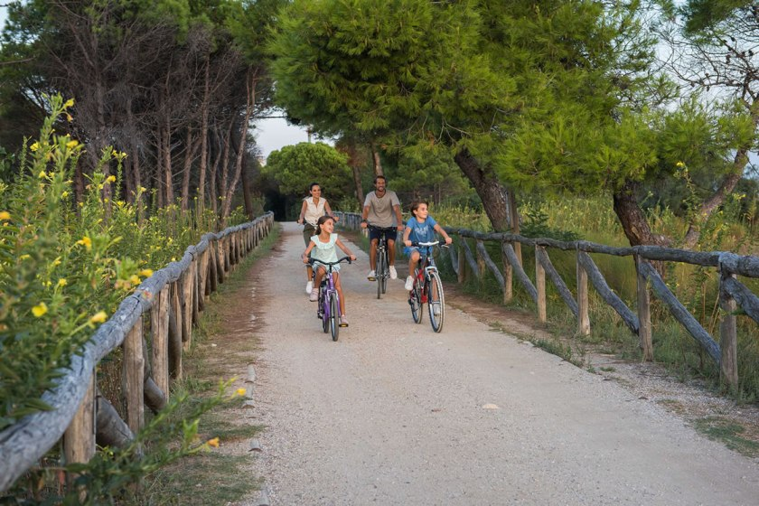 Radfahrer Bibione