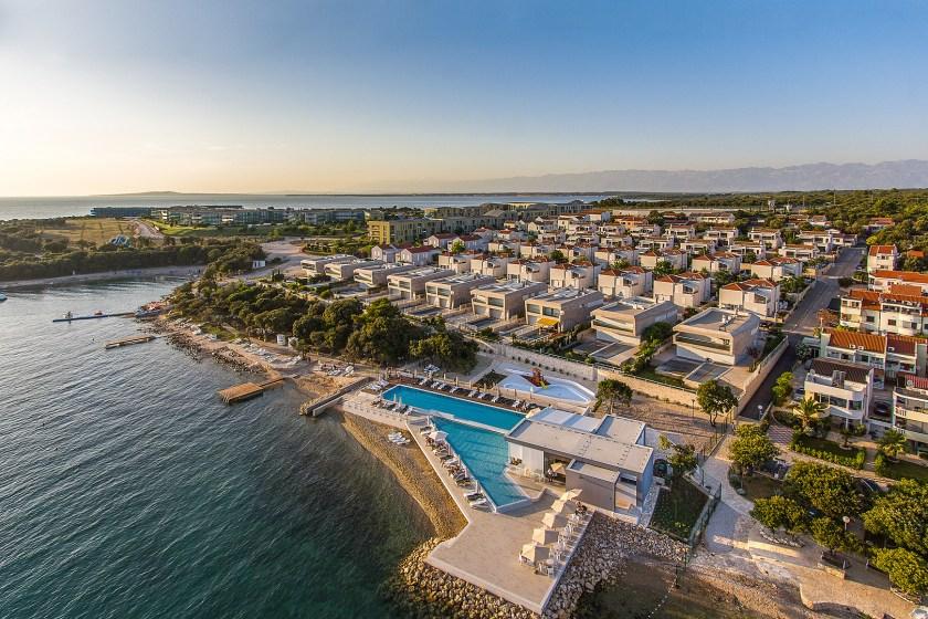 Blick auf Sunnyside Apartments Petrčane
