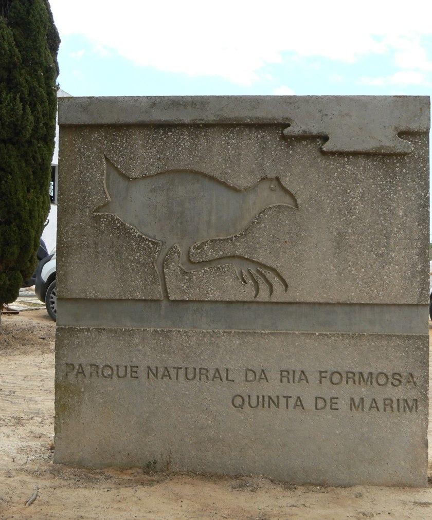 Quinta Marim Eingangsschild