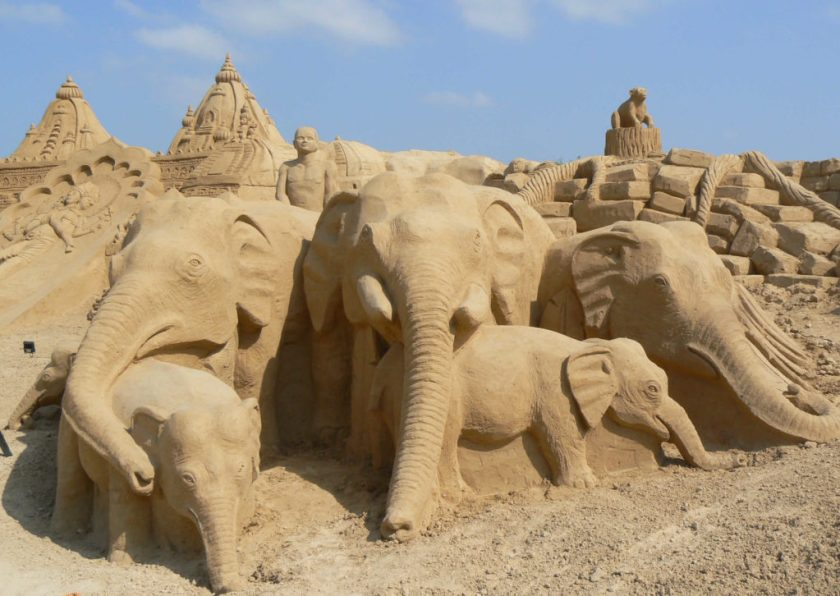 Elefanten Sandcity