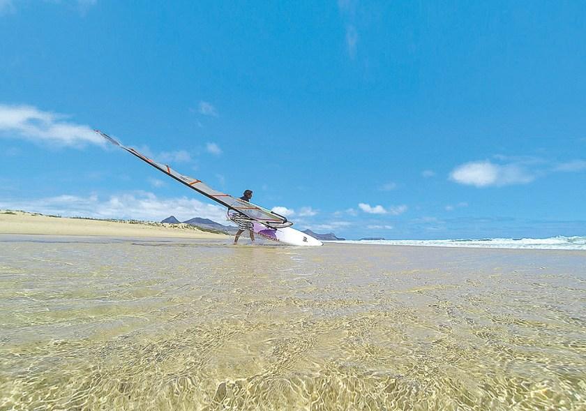 Windsurfen Porto Santo