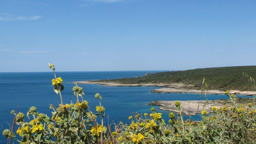 Bucht Porto Selvaggio Salent