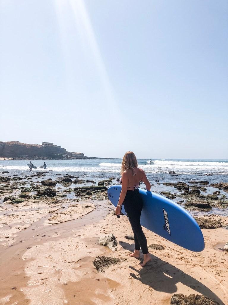 Surferin Ribeira Beach Ericeira