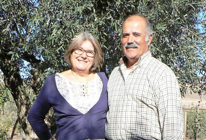 Bauern Familie im Alentejo