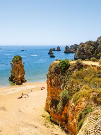 Algarve Lagos Praia Dona Ana