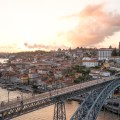 Portugal Porto Blick auf Ponte Dom Luis