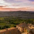 Italien Toskana Ausblick