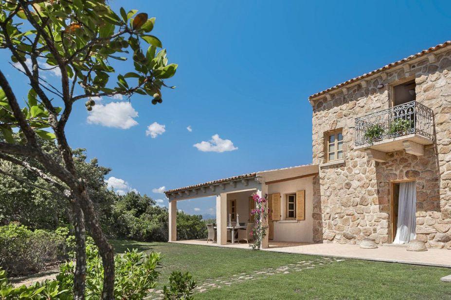 Sardinien Borgo Smeraldo Hotel & SPA Garten