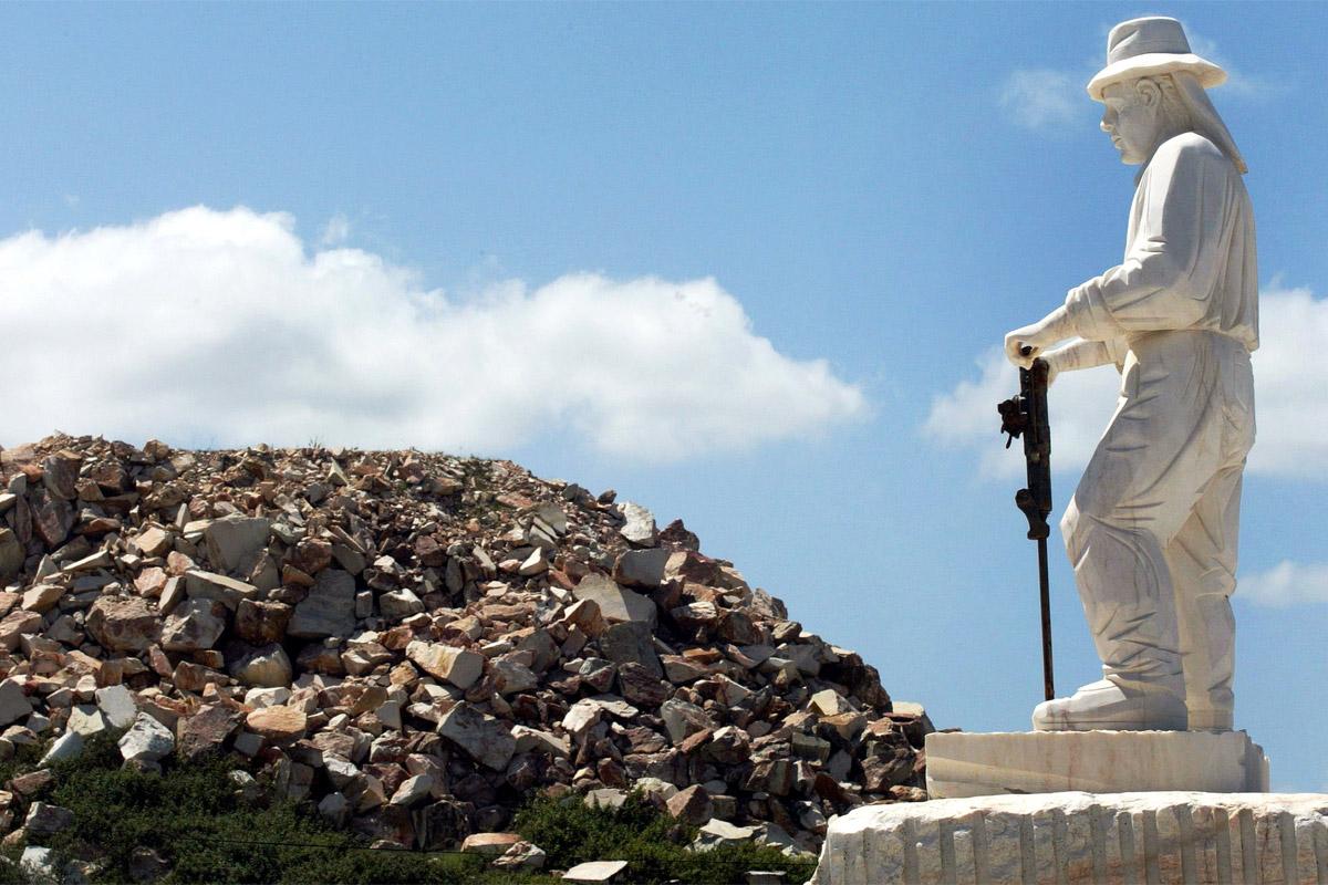 Marmor-Denkmal Alentejo