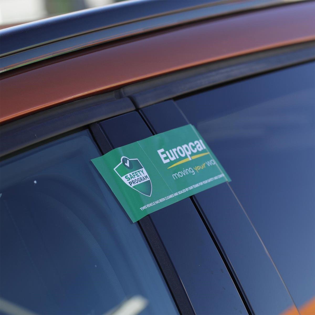 Europcar Abholung Mietwagen