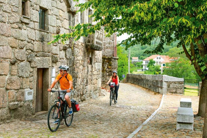 Fahrradfahren in Nordportugal