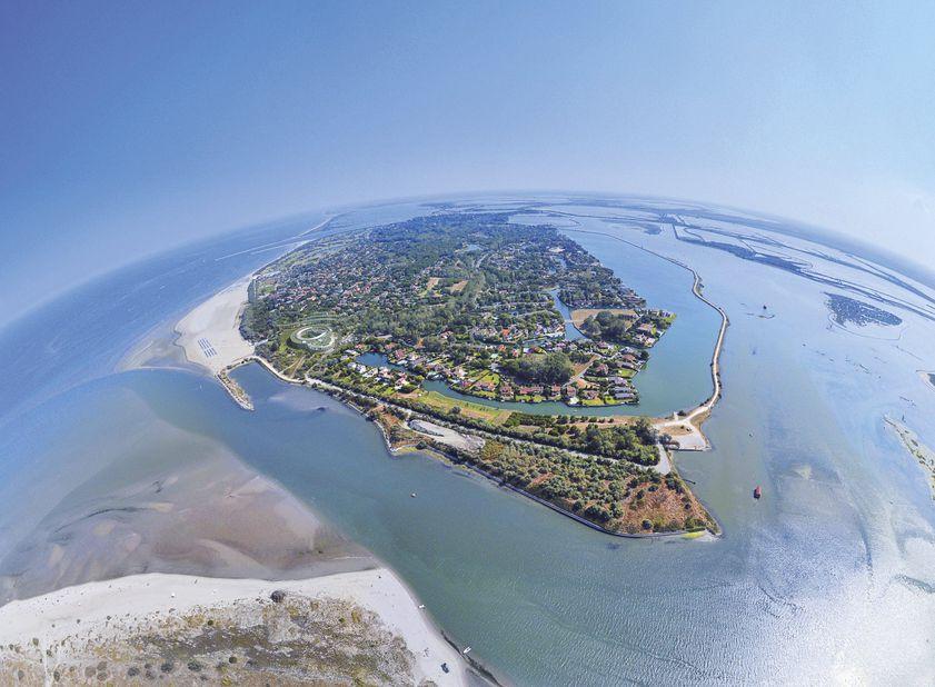 Albarella Ferienwohnungen Luftaufnahme