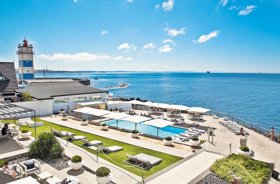 Farol Design Hotel Ausblick