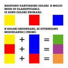 Colora questo libro. Un libro ispirato ai giochi Montessori sui colori.