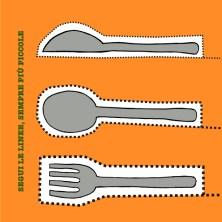 Affetta questo libro. Un'insalata da preparare con delle forbici per bambini...