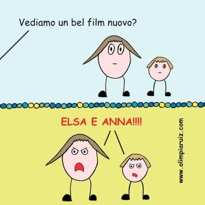 I miei problemi con Forzen - Parte terza - Vignette Olimpia Ruiz