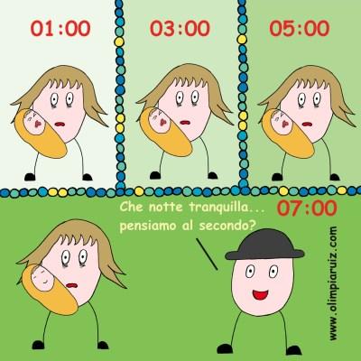 Vignette sulla vita in famiglia - Notti insonni 2