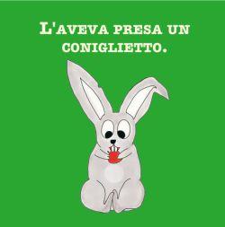 C'era un coniglietto... - Libro bambini