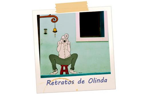 Retratos de Olinda. Foto: Jan Ribeiro/Pref.Olinda - Ilustração: PLIC (Gabriel Marx)