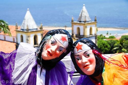 Papangus no Alto da Sé. Foto: Pedro Santos/Acervo Pessoal