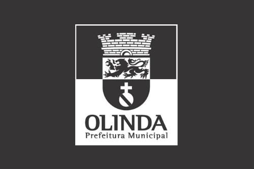 Marca da Prefeitura de Olinda P&B