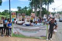 Caminha contra o abuso e a exploração sexual de crianças e adolescentes. Foto: Ádria de Souza/Pref.Olinda